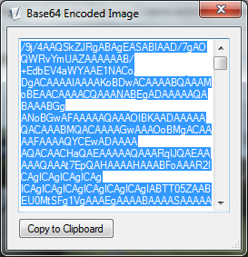 ExifView Base64 encoding