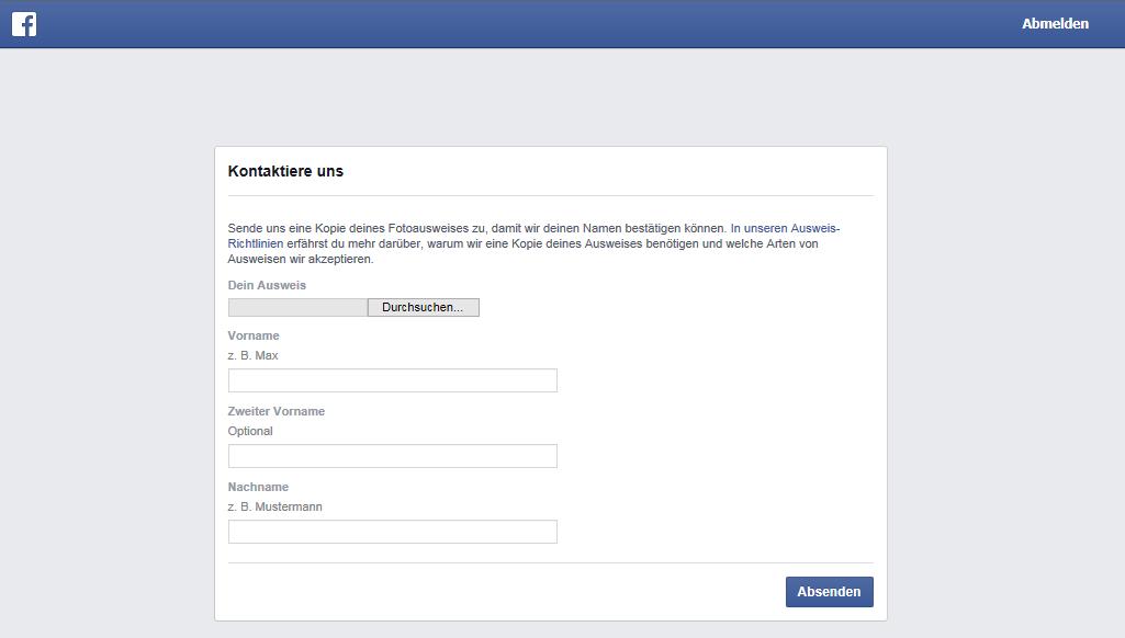 facebook eigene url