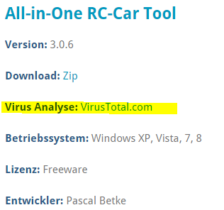 virus_analyse_all_in_one_rc_car_tool